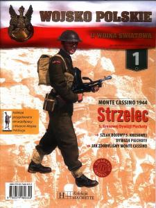 001 - Strzelec 5. Kresowej Dywizji Piechoty Monte Cassino 1944