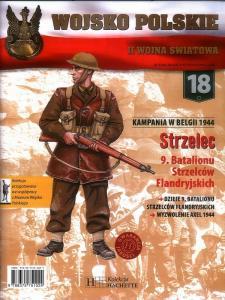 018 KAMPANIA W BELGII 1944 STRZELEC