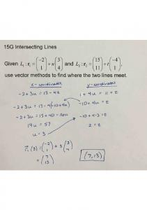 02-03 Notes 15G Intersecting Lines