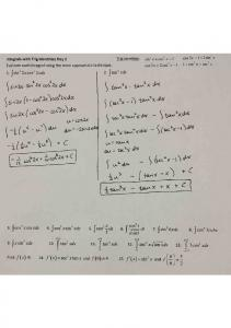03-25 Notes Integrals with Trig Identities Day 2