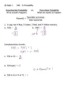 04-01 Notes 24B - D Probability