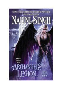 06. Nalini Singh - Archangel's Legion - rozdzial 1-42