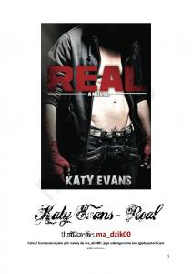 1 Katy Evans - Real