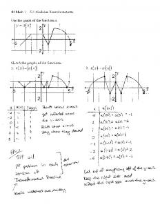 11-06 Notes 5H Modulus Transformations