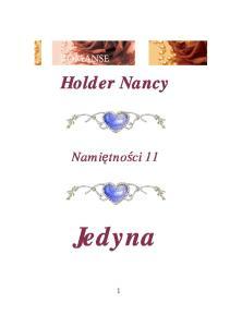11 Holder Nancy Jedyna