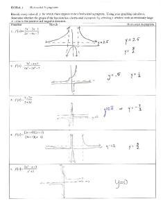 12-02 Notes Horizontal Asymptotes