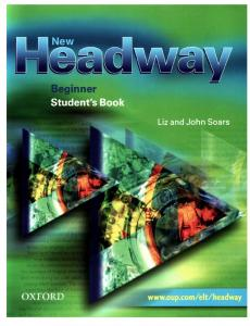 144 New Headway Beginner Students Book