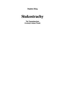 1987 King Stephen - Stukostrachy