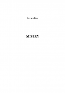 1987 Stephen King - Misery