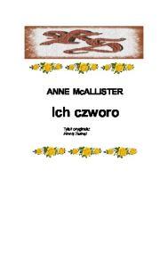 1McAllister Anne Ich czworo New York New York 01