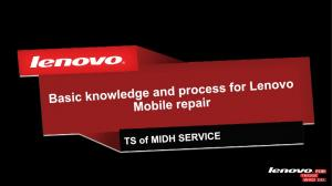 2 Basic knowledge and process for lenovo mobile repair