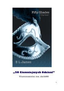 2. E. L. James - Ciemniejsza Strona Greya