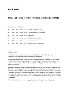 2 Kosik Rafał - Felix, Net i Nika Teoretycznie Możliwa Katastrofa