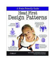 2004-Head First Design Patterns