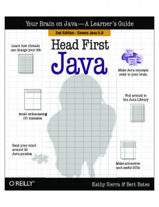 2005-Head First Java (2nd Edition)