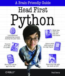 2010-Head First Python