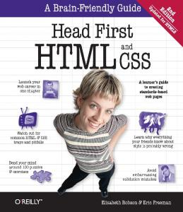 2012-Head First HTML and CSS (2nd Edition)
