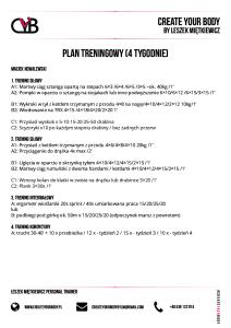 2017.11.10 - Kowalewski Maciej 2 - Plan Treningowy