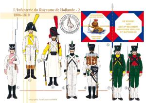 287 LInfanterie du Royaume de Hollande (2) 1806-1810 (Hollande-Guerres Napoleoniennes)