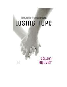 2.Colleen Hoover - Losing Hope