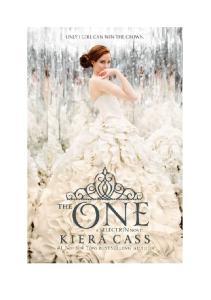 3. Jedyna - Kiera Cass