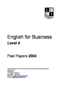 3 LCCI level 4