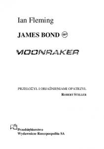 3. Moonraker - Ian Fleming
