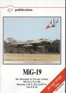 4 Publications MiG-19