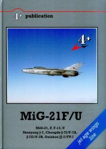 4 Publications MiG-21F-U