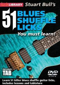 51 Blues Shuffle Licks Tab Book