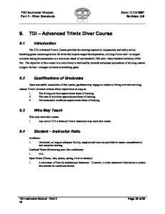 6TDI Advanced Trimix