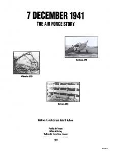 7 December 1941 - the Air Force Story