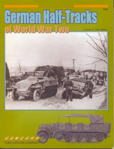 7054 German Half-Tracks Of World War Ii