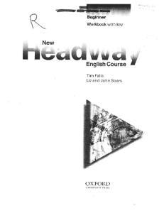 91 New Headway Beginner Workbook With Key