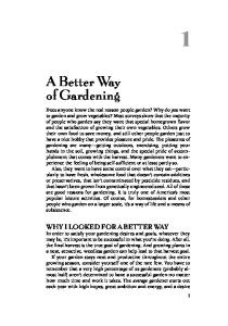 A Better Way to Gardening