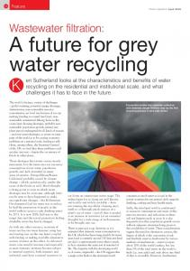 A future for greywater