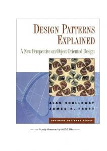 A. Wesley - Design Patterns Explained