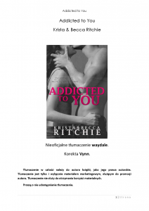 Addicted to You 01