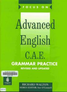 Advanced English C A E Grammar Practice
