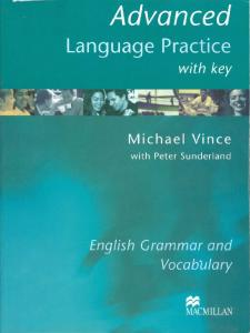 Advanced Language Practice with key - M.Vince