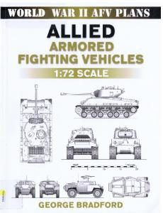 AFV Plans - Allied Armored Fighting Vehicles 1-72 Scale