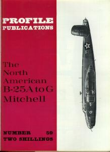 Aircraft Profile 059 - North American B-25A to G Mitchell