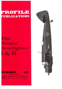 Aircraft Profile 137 - The Bristol Beaufghter I & II
