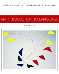 An Introduction to Language 2013