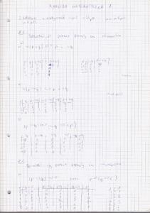 Analiza matematyczna 1 - rozwiazanie list