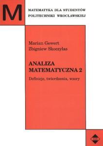 Analiza matematyczna 2 Definicje, twierdzenia, wzory