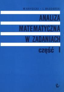 analiza matematyczna cz.1 krysicki