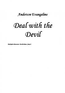 Anderson Evangeline - Deal with the Devil - PL