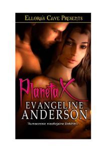 Anderson Evangeline Planeta X
