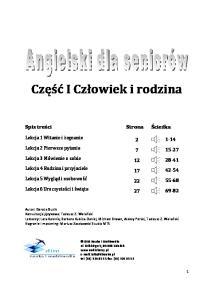 Angielski dla seniorow Czesc 1